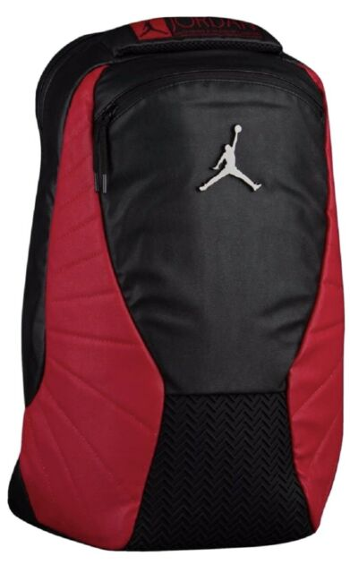 Nike Air Jordan 12 Retro Flu Game Jumpman Laptop Backpack Bred 11
