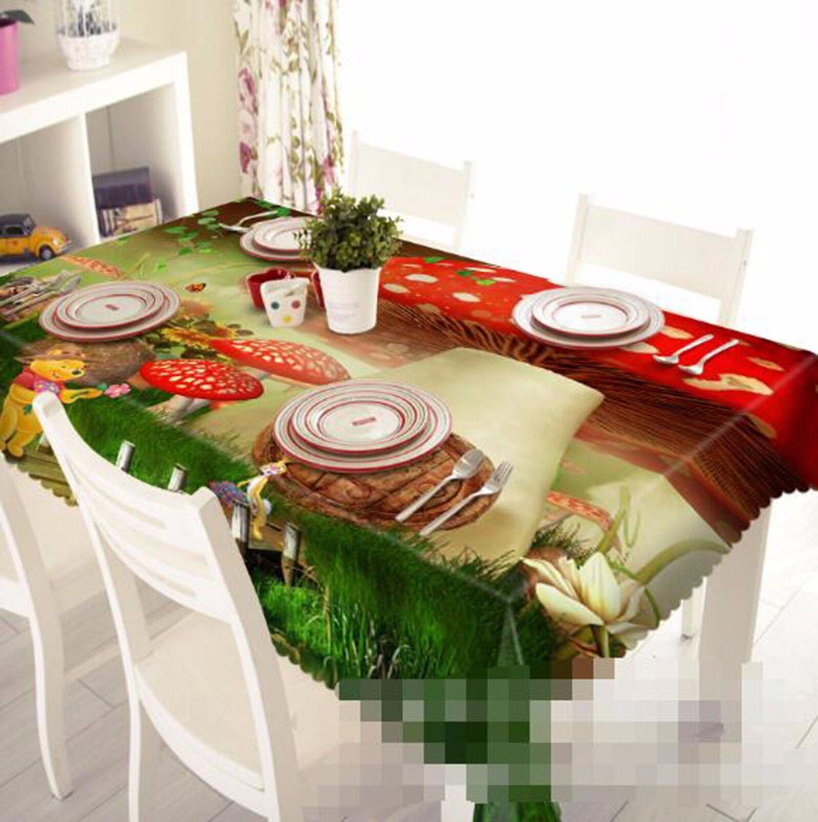 3D Dawdle 45 Nappe Table Cover Cloth fête d'anniversaire AJ papier peint Royaume-Uni Citron
