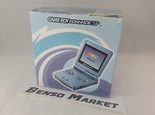 CONSOLE NINTENDO GBA GAME BOY ADVANCE SP BLU AZZURRO AGS-101 ORIGINALE COMPLETO