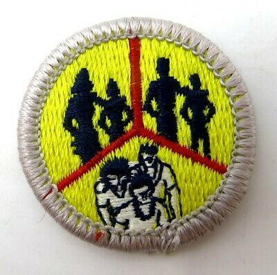 Reading Type H Plastic Back Boy Scout Merit Badge