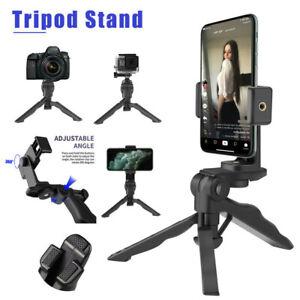 360° Adjustable Tripod Desktop Stand Desk Holder For Cell Phone iPhone 12 GoPro