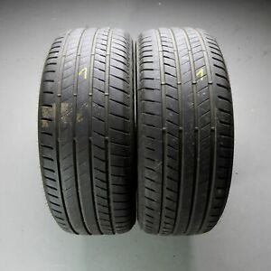 2x-Bridgestone-ALENZA-001-245-50-r19-105-W-Dot-1018-6-5-mm-Runflat-pneus-d-039-ete