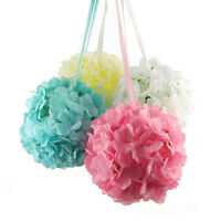 Silk Hydrangea Flower Kissing Balls Centerpiece, 6, 10