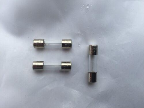 Ver luisant Swiftflow 120 /& 125E chaudière PCB verre fusionnent S202240 3.15AMP Pack de 3