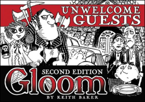 New Gloom card game Second Edition Unwelcome Guests