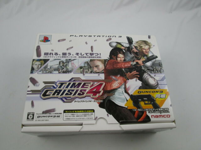 Time Crisis 4 with Guncon Playstation 3 PS Japan Ver