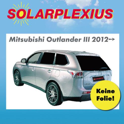 Folie MITSUBISHI OUTLANDER 3 Bj.12 Auto Sonnenschutz fertige Sonnenblenden k
