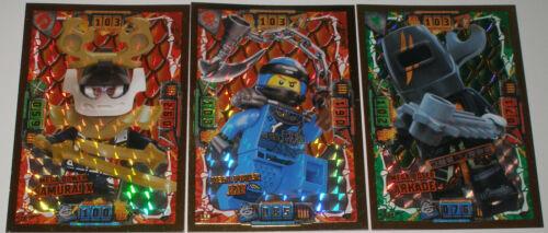 LE 7 und LE 23 NEU Lego Ninjago Serie 4 3 LE Karten Trading Card Game  LE 6