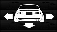 NA Miata DNO Down And Out Sticker Love Mazda Slammed Low Wide JDM Japan Drift