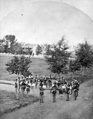 Large Team /& Wagon 1879 Photo Fort Benton Montana