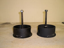 "Chevy s-10 front air bag cups (upper cups only)  2"" height"