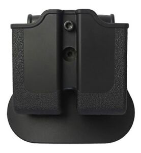 Z2010 IMI Defense Black Right Hand Double Magazine Pouch for Single Stack 1911