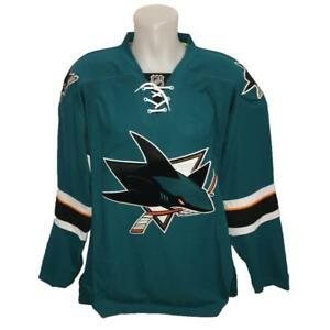 los angeles 8b40d 9764d Details about New NHL Reebok Authentic Edge San Jose Sharks Hockey Jersey  Size 52 56 60 Green