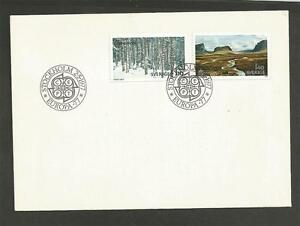SWEDEN-1977-EUROPA-Stamps-FIRST-DAY-COVER