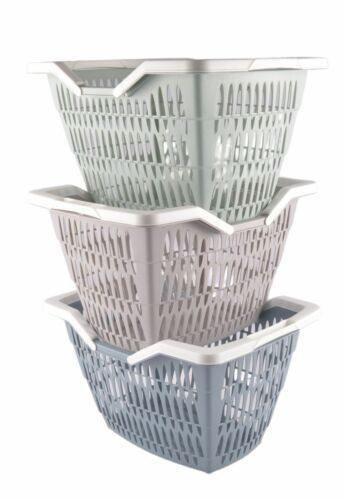 Shopping Basket Willy Willi Carrying Basket Plastic Basket Stackable Shopping Baskets NEW