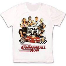 Cannonball Sign T-Shirt Course Fun Run Speed Limit symbole Limite de vitesse Bouclier