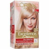 L'oreal Paris Excellence Creme, 9a Light Ash Blonde + Makeup Sponge