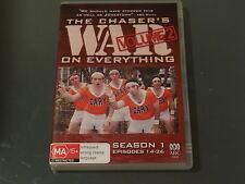 THE CHASER'S WAR ON EVERYTHING SEASON 1 VOLUME 2  EPISODES 14-26  *GOING CHEAP*