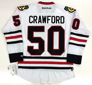 Image is loading COREY-CRAWFORD-2013-CHICAGO-BLACKHAWKS-STANLEY-CUP-REEBOK- 2fcf714b5