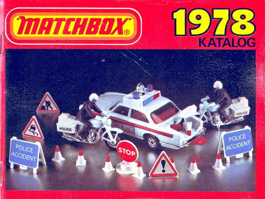 Matchbox Jahres-Katalog Deutschland 1978 top Zustand Zustand Zustand c57fa1