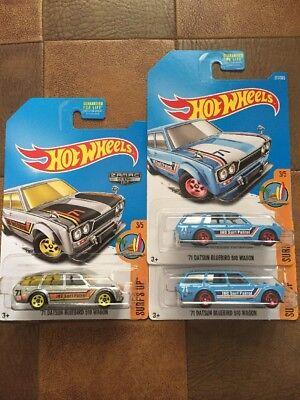 Hot Wheels 71 Datsun Bluebird 510 Wagon