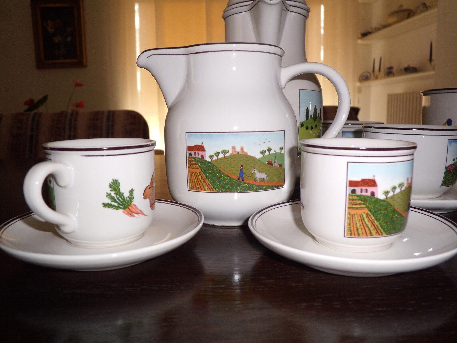 Servizio da  tè VILLEROY e BOCH