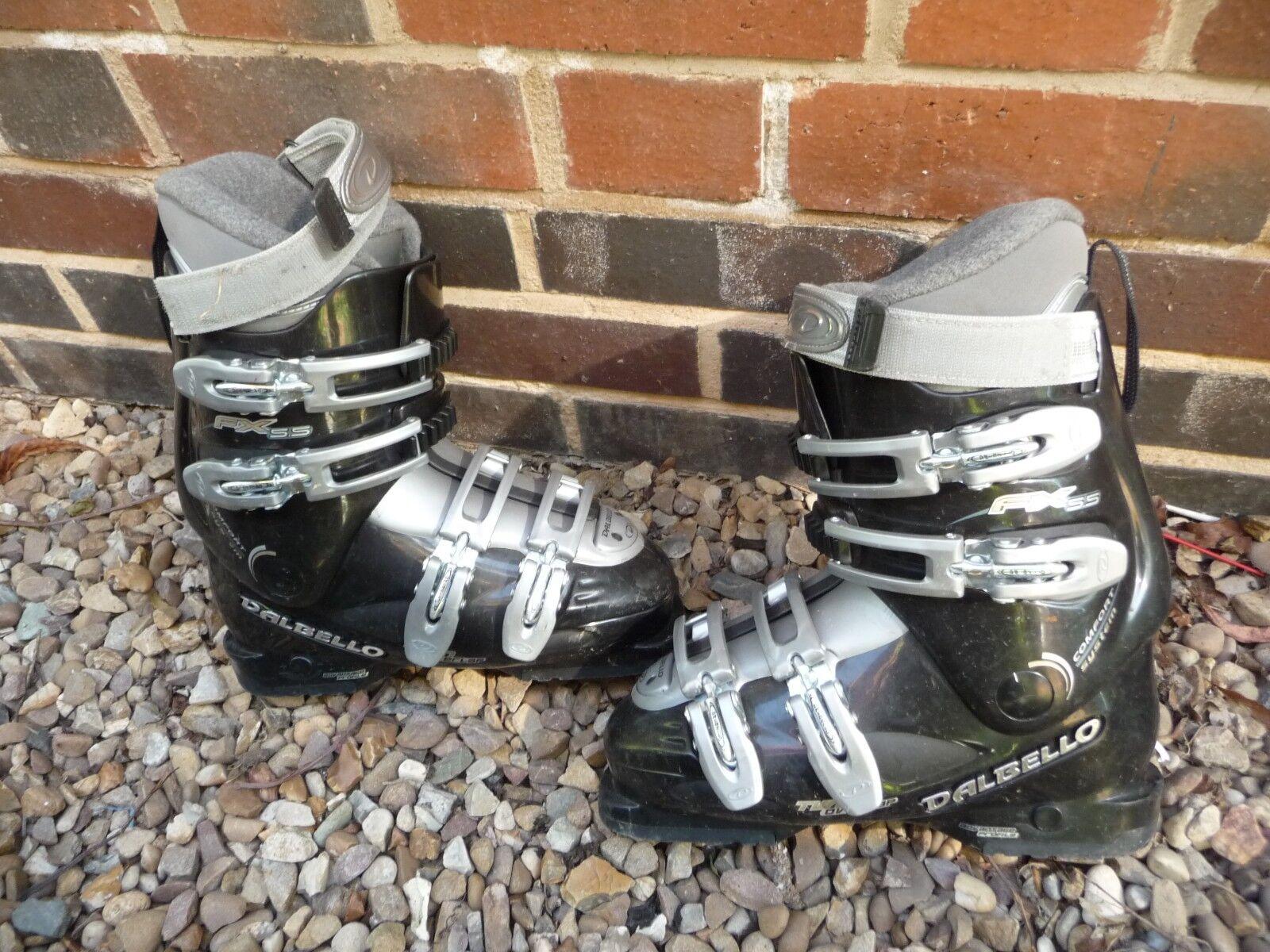 Ski Stiefel DALBELLO Größe 5 UK 279mm sole COMFORT SYSTEM AUTO INSTEP schwarz