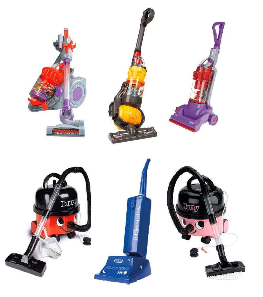 Casdon Kids Toy Fun Hoover Vacuum Cleaners Dyson Henry