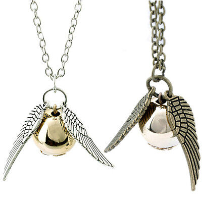 Harry Potter Snitch The Golden Pendant Trendy Jewelry Unisex Magic Necklace