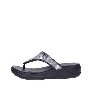 Crocs Flip-Flops Gomma Frau schwarz 206850