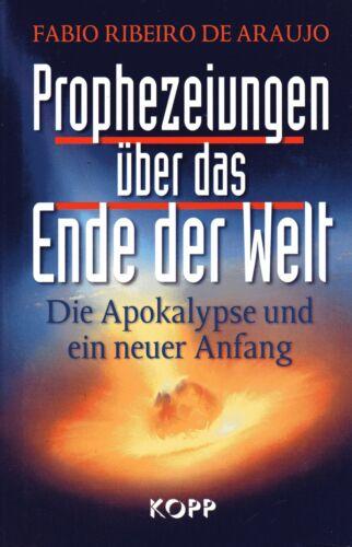 1 von 1 - PROPHEZEIUNGEN ÜBER DAS ENDE DER WELT - Fabio R. de Araujo BUCH - KOPP VERLAG