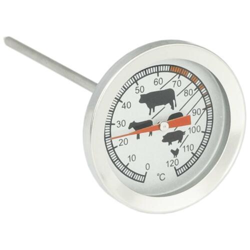 Bratenthermometer BBQ-// Grill-// Fleischthermometer mit Garpunkte-Markierungen