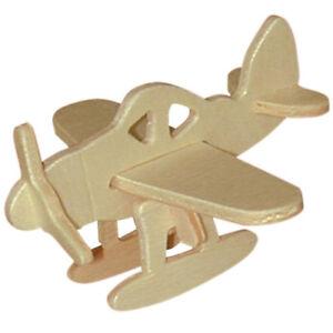 Flugzeug Holzbausatz Flugzeug Flieger Holz Steckpuzzle Holzpuzzle Kinder Bauen