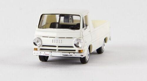 Brekina 34326-1//87 Dodge a 100 pick-up blanco TD-nuevo