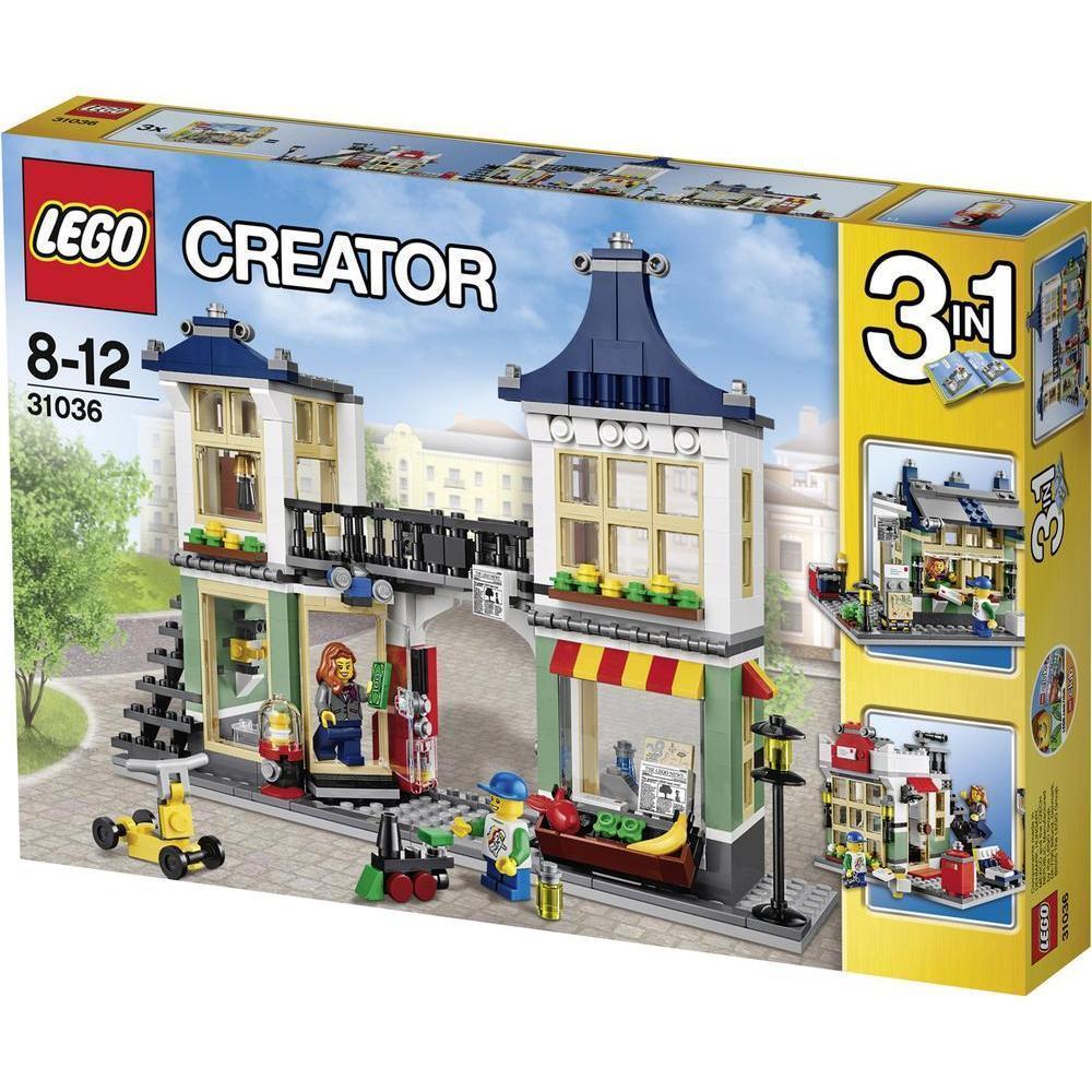 Lego Creator 31036 Negozio di Giocattoli e Drogheria Fuori Produzione