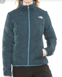 B 216  The North Face Peakfrontier Zip-In Reversible Jacket Women ... f7487747b