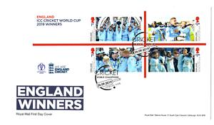 2019-GB-ICC-Cricket-World-Cup-England-ganadores-Primer-Dia-Cubierta-19-09-19-FDC