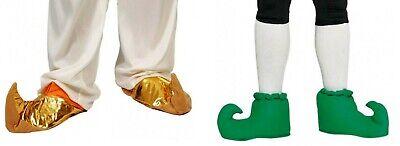 Carnevale Halloween Copriscarpe Babbucce Elfo Sultano Faraone Peter Pan Aladino