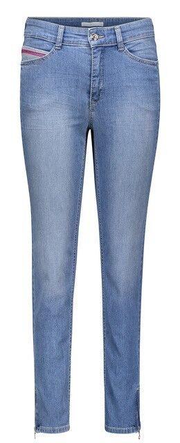 MAC Jeans Damen  ANGELA  verkürzte Jeans Blau Gr. 38 40 42  woman  light Blau