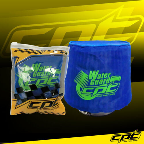 Water Guard Cold Air Intake Pre-Filter Cone Filter Cover for Dodge Small Blue