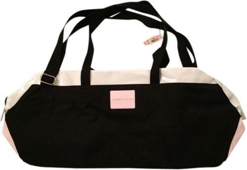 de blanco Victoria Getaway nueva semana fin de de de lienzo viaje rosa en negro Secret Bolsa TIqF68