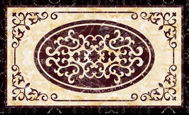3D Retro Papel Pintado Mural Parojo de suelo Arte Patrón Impresión Calcomanía 5D AJ Wallpaper
