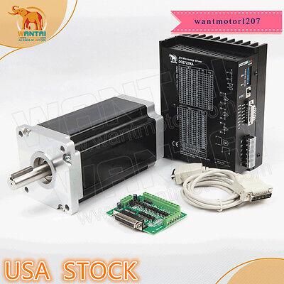 USA Free!!Wantai 1Axis Nema42Stepper Motor 110BYGH150-001 150mm 3256oz-in&Driver