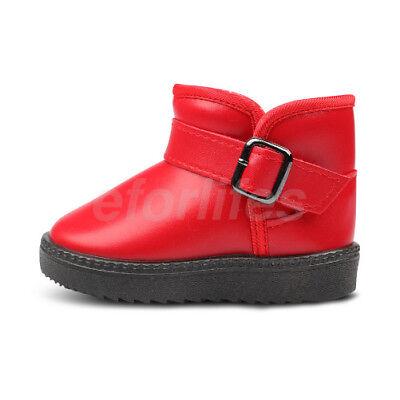 SAGUARO Unisex Kinder Mädchen Jungen Schnee Stiefel Knöchel Warm Schuhe Winter