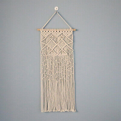 Wall Hanging Handmade Art Decor Woven Handcrafted Tapestry Cotton Macrame
