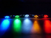 Led Light Pods, Motorcycle, Pack Of 80 Leds, All Colors Available