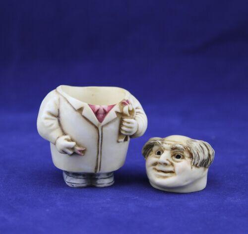 Harmony Kingdom Figurine Ball Pot Bellys GRIN MAKER PBPDE 2001 W//Box