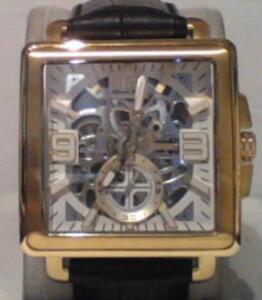 NEW-Louis-Bolle-Men-039-s-LB-W13037-Clement-Mechanical-Skeleton-Watch-2-995