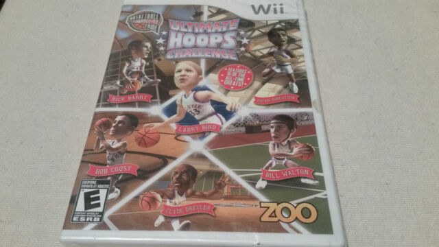 Hall of Fame: Ultimate Hoops Challenge (Nintendo Wii, 2010) SEALED