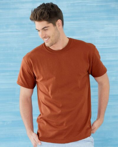 3 Wholesale Gildan Heavy Cotton White Adult T-Shirts Bulk Lot S M L XL 2XL 3XL